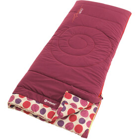 Outwell Circles Sac de couchage Enfant, berry